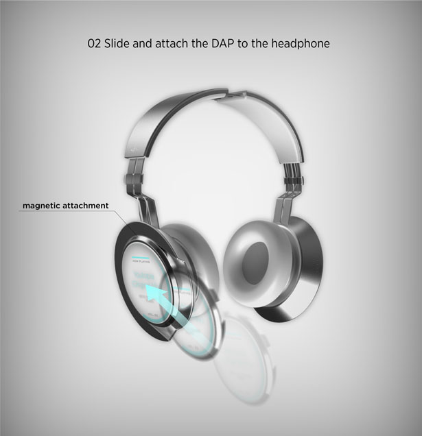 HALO Wireless Interactive Headphones by Jongha Lee