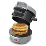 Hamilton Beach 25475 Breakfast Sandwich Maker Makes Your Breakfast in 5 Minutes