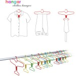 Hangar Provides A Playful Alternative To Store Clothes In The Closet With Style