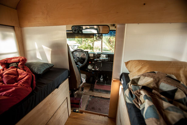 Hank Bought A Bus Project Transformed A School Bus Into A Tiny Living Space