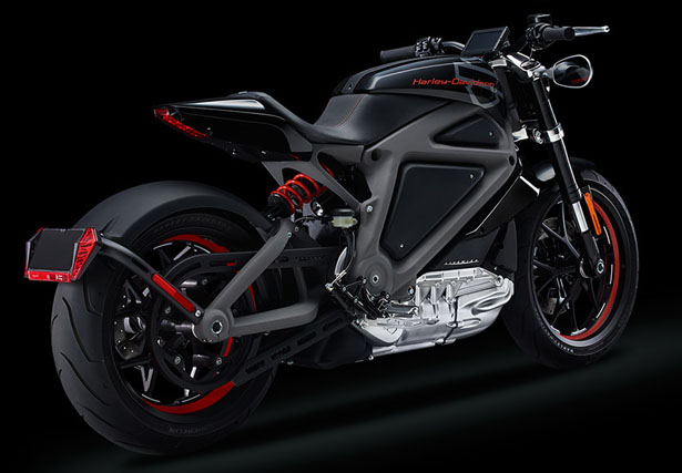 Harley Davidson Livewire Electric Motorcycle by Harley Davidson