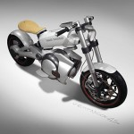 Trunk Eco Friendly Motorcycle by Nicolas Petit