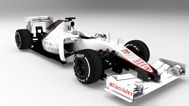 Hass F1 Team Fantasy Liverie Concept Race Car by Carlos Pinto