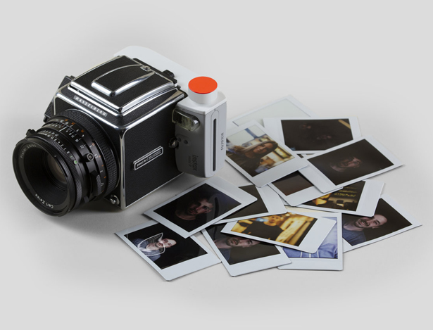 Isaac Blankensmith Merges Hasselblad and FujiFilm Instax 9