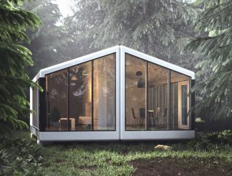 Haus.me 3D-Printed Fully Self-Sustainable Mobile House is 100% Ready to Use