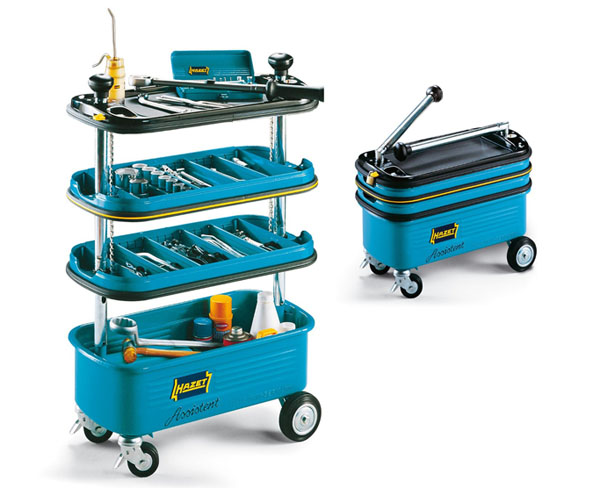 Hazet HZ166N Collapsible Tool Trolley