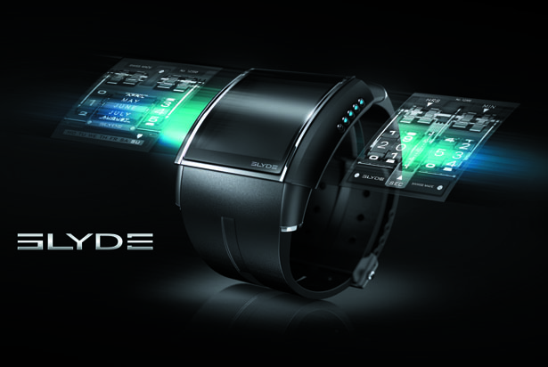 HD3 Slyde Digital Screen Watch
