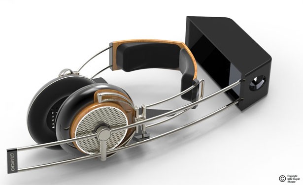 Headset Concept by Mike Enayah