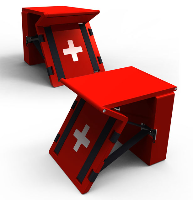 Healing Bench Medical Kit by Adrian Candela