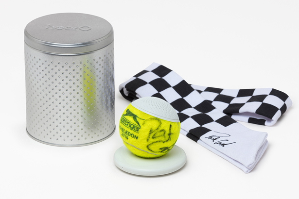 Hearo Bluetooth Speaker Reuses a Championship Tennis Ball to Remind You of Tennis History