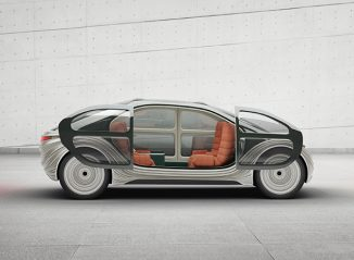 Futuristic IM Motors AIRO Electric Car with HEPA Filtering System and Configurable Interior
