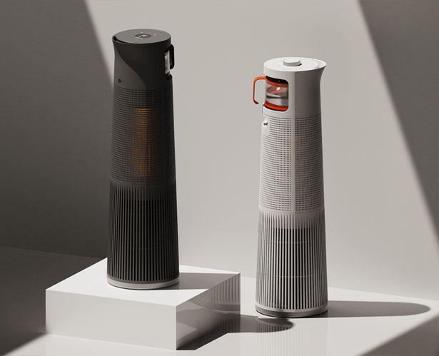 Heattle Humidify Heater Concept by Dongje Park