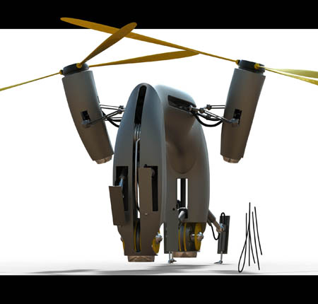 heavy lift robotic helicopter