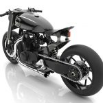 Heavyweight 1000cc Motorbike Concept Proposal for Royal Enfield by Manguesh Damania