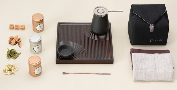 HEI Tea Set : Modern Way to Enjoy Asian Tea Ceremony