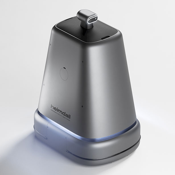 Heimdall - Automated Facility Monitoring Robot by (acasso) Inc.