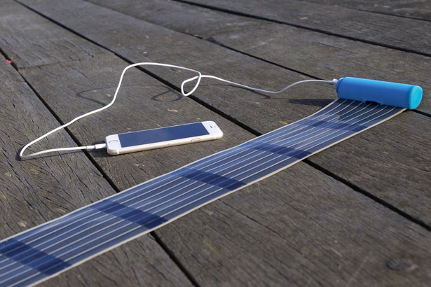 InfinityPV HeLi-on: World's Most Compact Solar Charger and Battery Bank In One