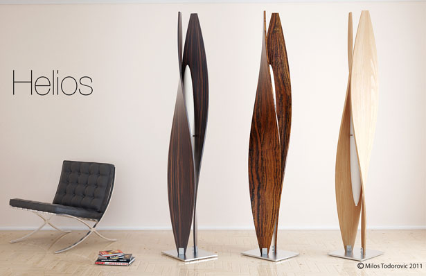 Helios Floor Lamp by Milos Todorovic