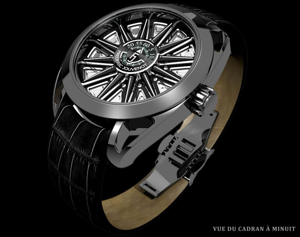 Helios Watch by Frederic Jouvenot