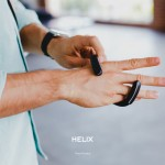 Helix Wearable Cuff with Stereo Bluetooth Earbuds : No More Tangled Earbuds