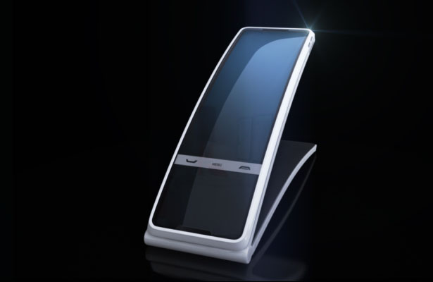 Hello Tomorrow phone concept : An Evolution of Today's Desk Phone Into The Future