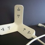 Herald Powerstrip Has Been Designed To Fit Snug In The Corner of Your Room