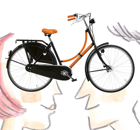 Stylish Bicycle from Hermes