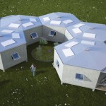 Hex House : A Hexagonal Temporary Housing for Refugees