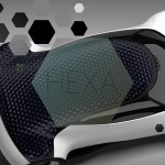 Hexa Car Concept with Dimpled Roof Just Like A Golf Ball