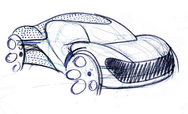 Hexa Car Concept by Bez Dimitri