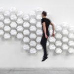 Hexi Responsive Wall by Thibaut Sld Reminds You Everything Moves Around Us