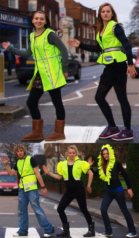 Hi-Vis Vest Offers Complete Roadside Safety with Style