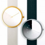 Hidden Time Concept Watch Uses Gradient Color to Indicate The Hour