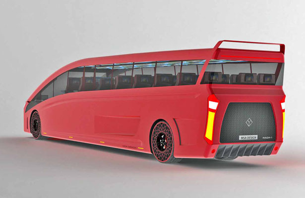 High Speed Bus Mach by Abhi Muktheeswarar