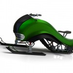 Hima Snowmobile With Aerodynamic Body Is Perfect for Snowmobile Racing