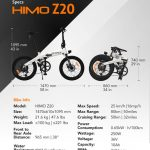 HIMO Z20: The Ultra-Dynamic Dual Mode E-Bike