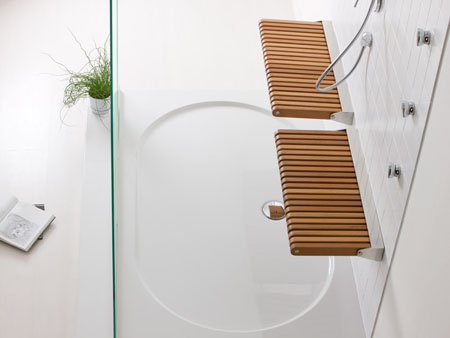 Spa Shower Design