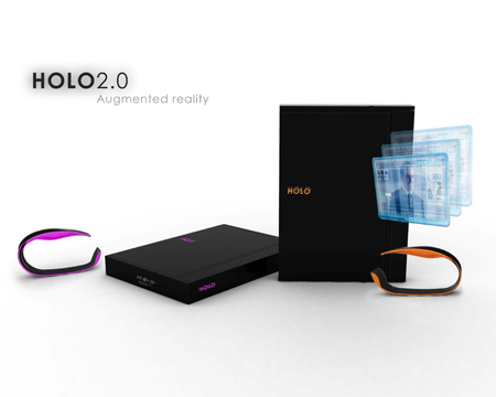 HOLO 2.0 : Future Wearable Computer for 2015