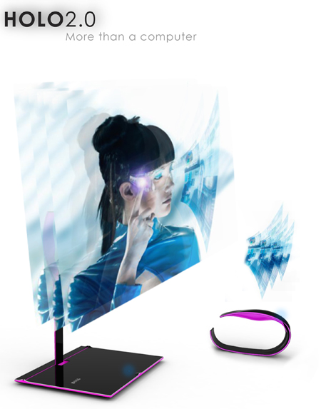 HOLO Next Generation Wearable Computer