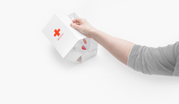 Home First Aid Kit by Gabriele Meldaikyte