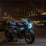 Futuristic Honda CB4 Interceptor Concept Features Total Black Color Scheme