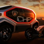 Honda CHP Drone Squad : Futuristic Highway Patrol Vehicle for 2025
