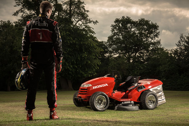 Honda HF2620 Lawn Tractor : World's Fastest Lawn Mower Yet - Tuvie