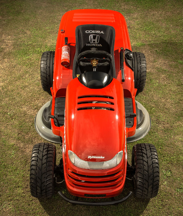 Honda HF2620 Lawn Tractor : World's Fastest Lawn Mower Yet ...