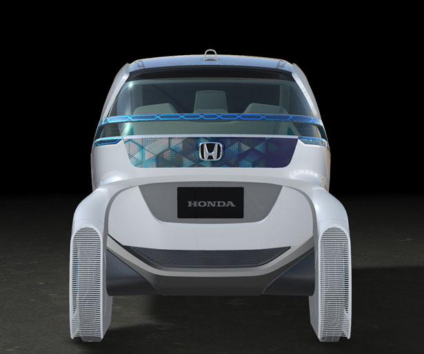Honda Micro Commuter Concept - Futuristic Electric City Commuter