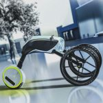 Honda Motus Concept Personal Vehicle with Removable Mono Wheel System