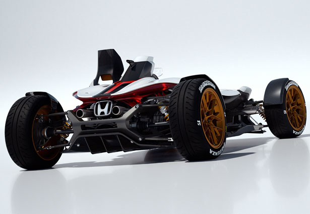 Honda Project 2&4 Concept Car Was Inspired by The Legendary Honda RA272 of 1965