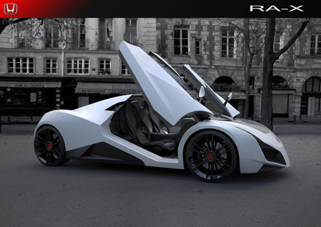 Honda RAX Two Seater Concept Sportscar Tuvie - Two seater sports cars
