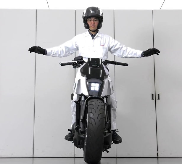 Honda Riding Assist Self-Balancing Motorcycle