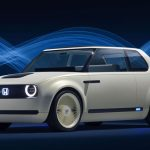 Honda Urban EV Concept Car Features Futuristic Interior in Retro Style Exterior